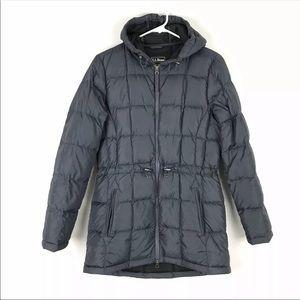 LL Bean Coat Jacket Goose Down Puffer Lightweight